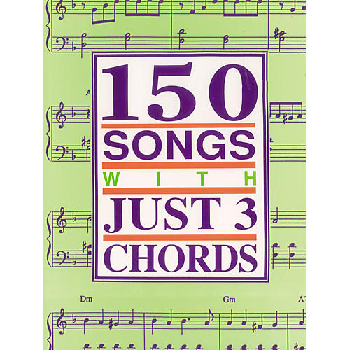 Alfred 150 Songs with Just 3 Chords Guitar Tab Songbook