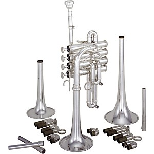 Kanstul 1520 Series Bb / A / G Piccolo Trumpet by Kanstul