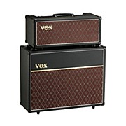 Vox 15W Custom Tube Guitar Amp Head with 2x12 Cabinet