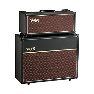 Vox 15 Watt Custom Tube Guitar Amp Head with 2x12 Cabinet by Vox