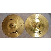 Miscellaneous 15X6 HIGH-HAT CYMBALS Drum