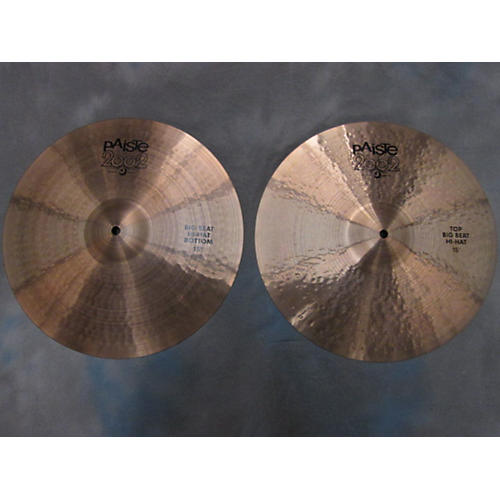 Paiste 15in 2002 Big Beat Hi Hats Cymbal