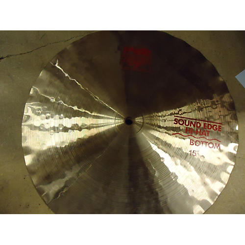 Paiste 15in 2002 SOUND EDGE HI-HAT PAIR Cymbal
