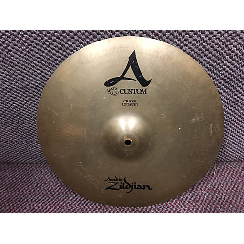 Zildjian 15in A Custom Crash Cymbal-thumbnail