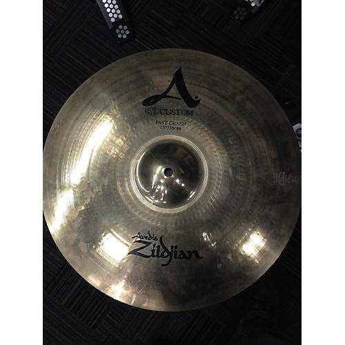 Zildjian 15in A Custom Fast Crash Cymbal