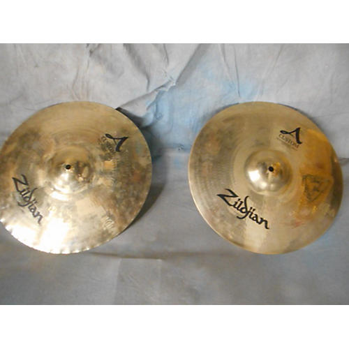 Zildjian 15in A Custom Hi Hat Pair Cymbal