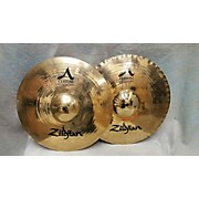 Zildjian 15in A Custom Mastersound Hi Hat Pair Cymbal