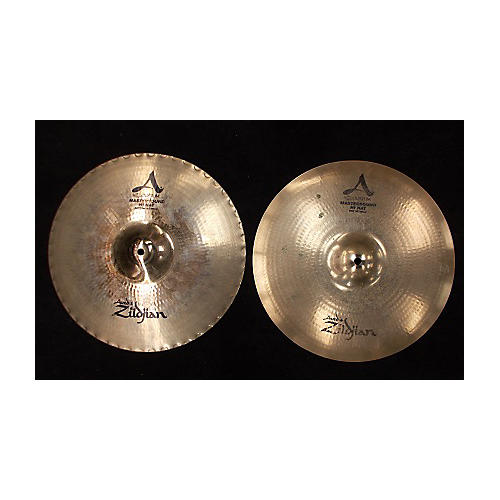 Zildjian 15in A Custom Mastersound Hi Hat Pair Cymbal-thumbnail