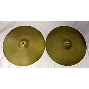 Pre-owned Zildjian 15 inch A Series Hi Hat Pair Cymbal by Zildjian