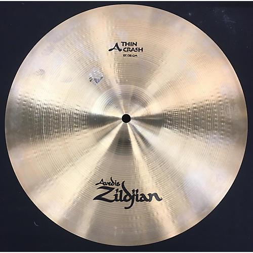 Zildjian 15in A Series Thin Crash Cymbal-thumbnail