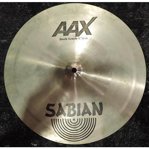 Sabian 15in AAX Series Dark Crash Cymbal