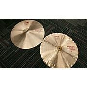 Paiste 15in Alpha Sound Edge Hi Hat Pair Cymbal