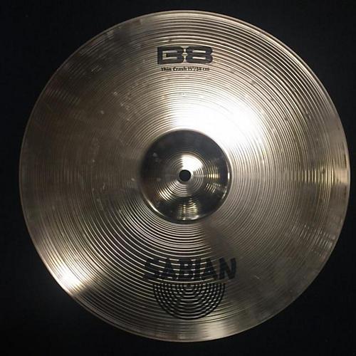 Sabian 15in B8 Thin Crash Cymbal-thumbnail