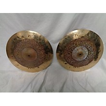 Meinl 15in BYZANCE DUAL HIHAT PAIR Cymbal