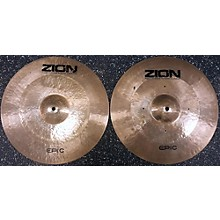 Zion 15in Epic Hi Hat Cymbal