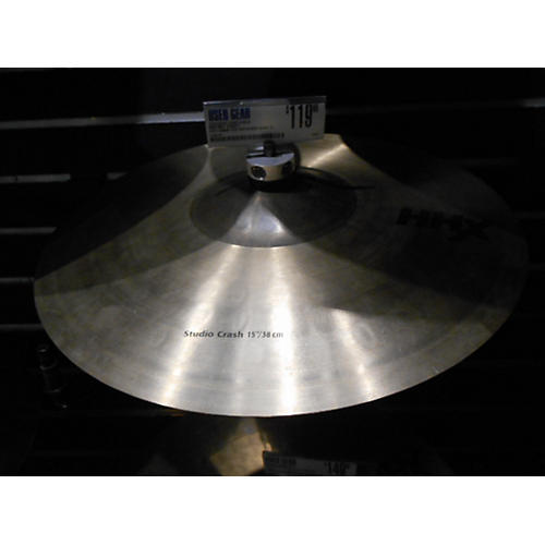 Sabian 15in HHX Studio Crash Cymbal-thumbnail