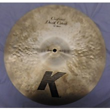 Zildjian 15in K Custom Dark Crash Cymbal