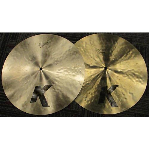 Zildjian 15in K Light Hi Hat Pair Cymbal-thumbnail