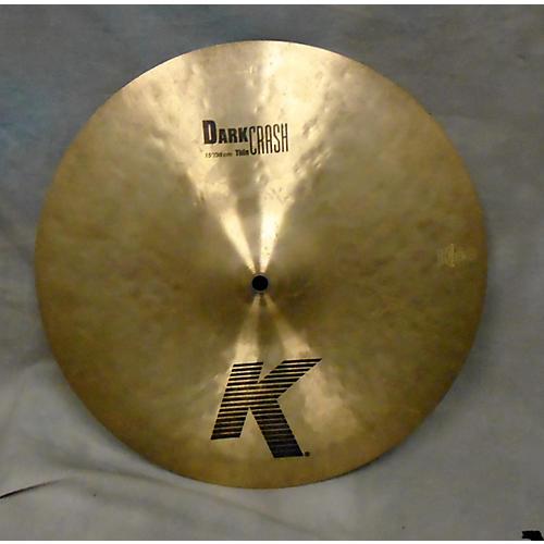 Zildjian 15in K Thin Dark Crash Cymbal-thumbnail