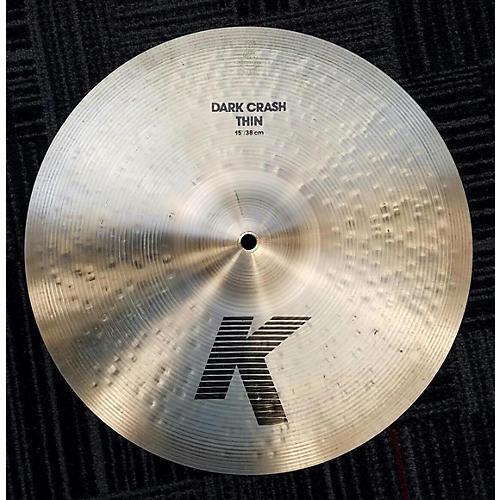 Zildjian 15in K Thin Dark Crash Cymbal  35