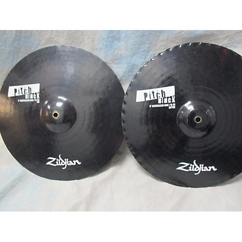 Zildjian 15in Pitchblack Mastersound Pair Cymbal-thumbnail