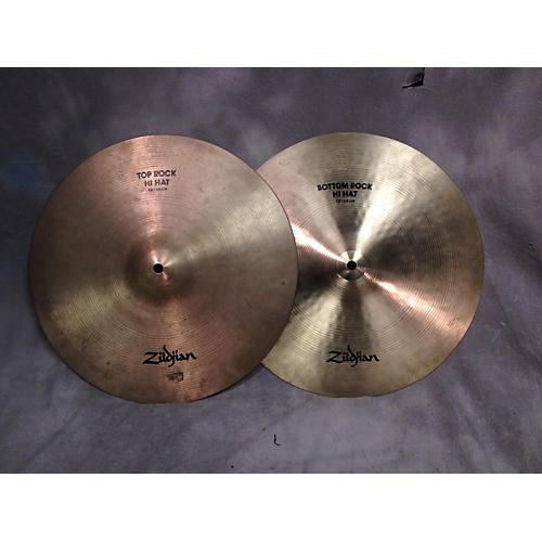 Zildjian 15in Rock Hi Hat Pair Cymbal-thumbnail