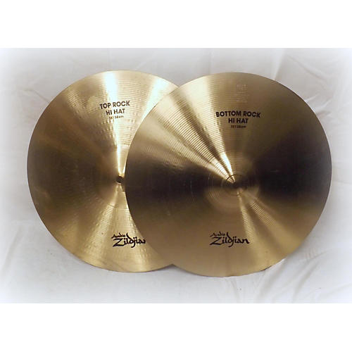 Zildjian 15in Rock Hi Hat Pair Cymbal