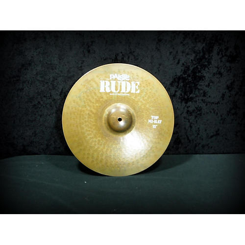 Paiste 15in Rude Hi Hat Pair Cymbal-thumbnail