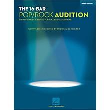 Hal Leonard 16 Bar Pop/Rock Audition Men's Edition