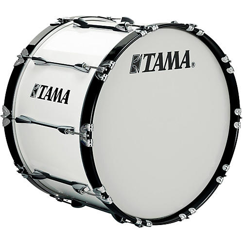 Tama Marching 16 x 14 in. Starlight Marching Bass Drum Sugar White