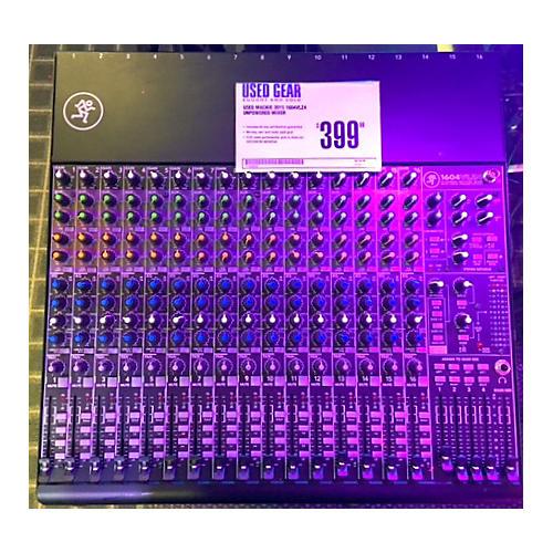 Mackie 1604VLZ4 Unpowered Mixer