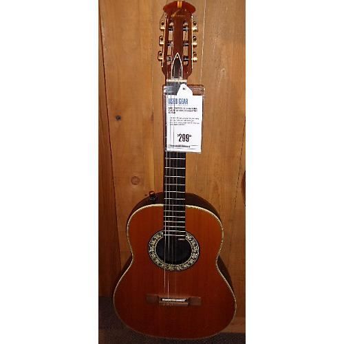 Ovation 1613-4 Classical Acoustic Electric Guitar