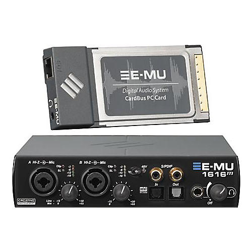 E-mu 1616M Master Laptop CardBus Digital Audio System