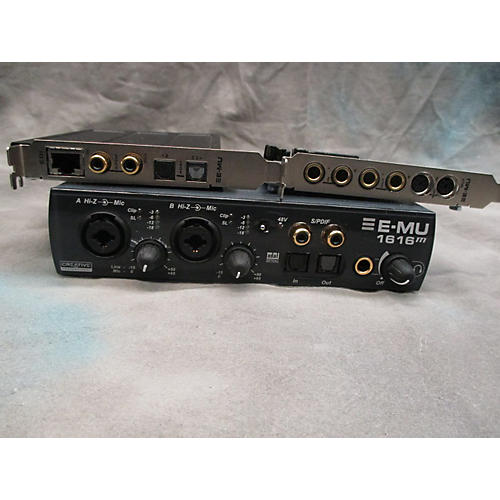 E-mu 1616m Audio Interface