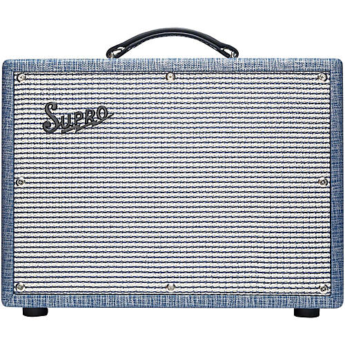 Supro 1622RT Tremo-Verb 25W 1x10 Tube Guitar Combo Amp-thumbnail