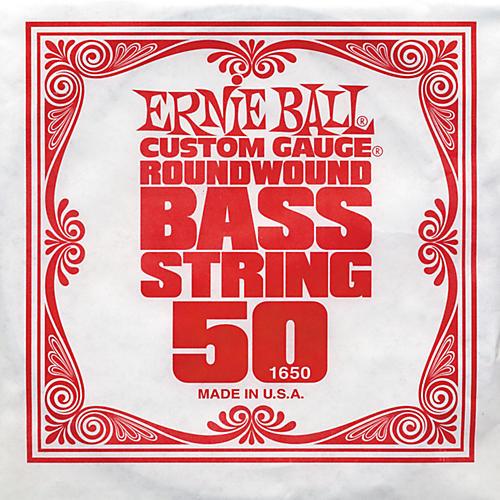 Ernie Ball 1650 Single Bass Guitar String-thumbnail
