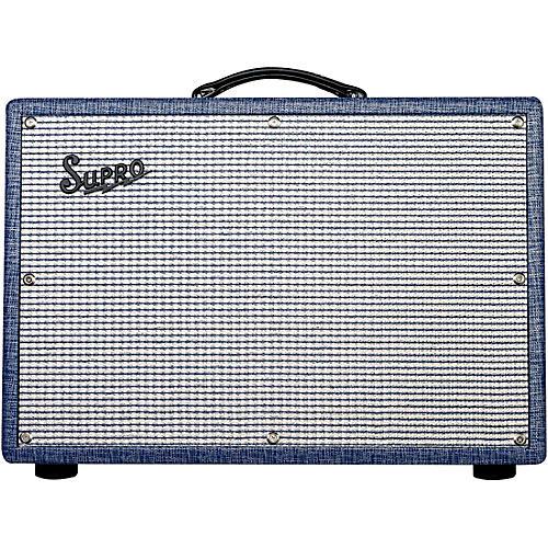 Supro 1650RT Royal Reverb 35/45/60W 2x10 Tube Guitar Combo Amp-thumbnail