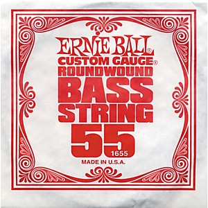 Click here to buy Ernie Ball 1655 Single Bass Guitar String by Ernie Ball.