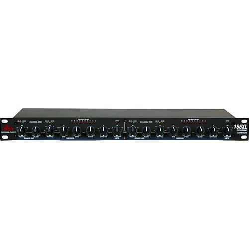 dbx 166XL Dual Compressor Limiter