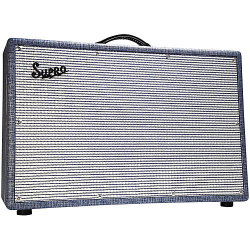 Supro 1688T Big Star 25W 2x12 Tube Guitar Combo Amp-thumbnail