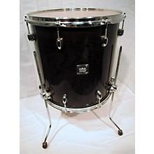 Yamaha 16X16 Oak Kustom Drum