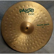 Paiste 16in 1000 Power Crash Cymbal