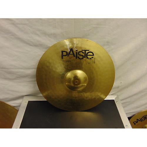 Paiste 16in 101 Brass Crash Cymbal-thumbnail