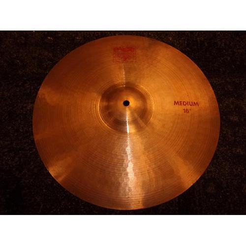 Paiste 16in 2002 Medium Crash Cymbal