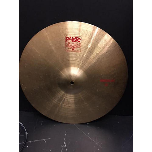 Paiste 16in 2002 Medium Crash Cymbal-thumbnail