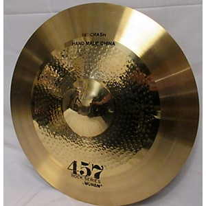 Pre-owned Wuhan 16 inch 457 ROCK SERIES CRASH Cymbal by Wuhan
