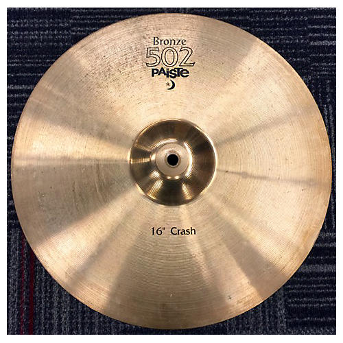 Paiste 16in 502 Bronze Cymbal