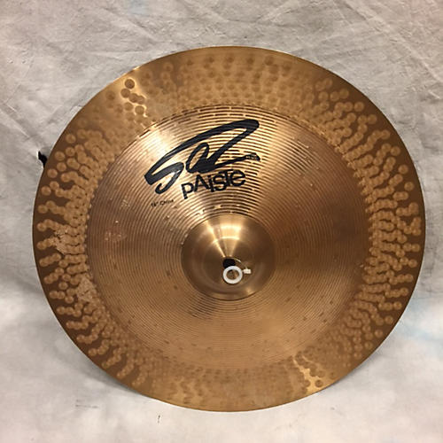 used paiste 16in 502 plus cymbal guitar center. Black Bedroom Furniture Sets. Home Design Ideas