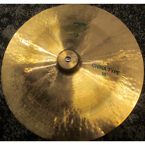 used paiste 16in 505 china cymbal guitar center. Black Bedroom Furniture Sets. Home Design Ideas