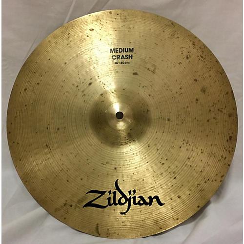Zildjian 16in A Custom Medium Crash Cymbal-thumbnail